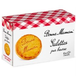Bonne Maman | Butter Galettes | Biscuits| French | Shortbread | Buy Online | UK